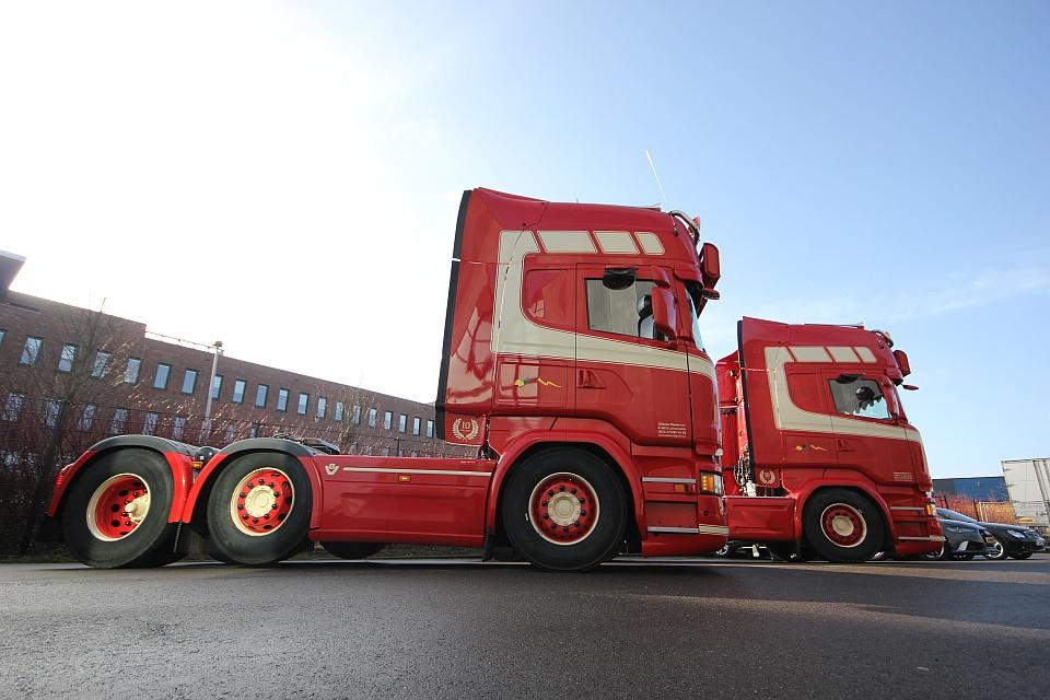 Truck interieur voor Clybouw BVBA