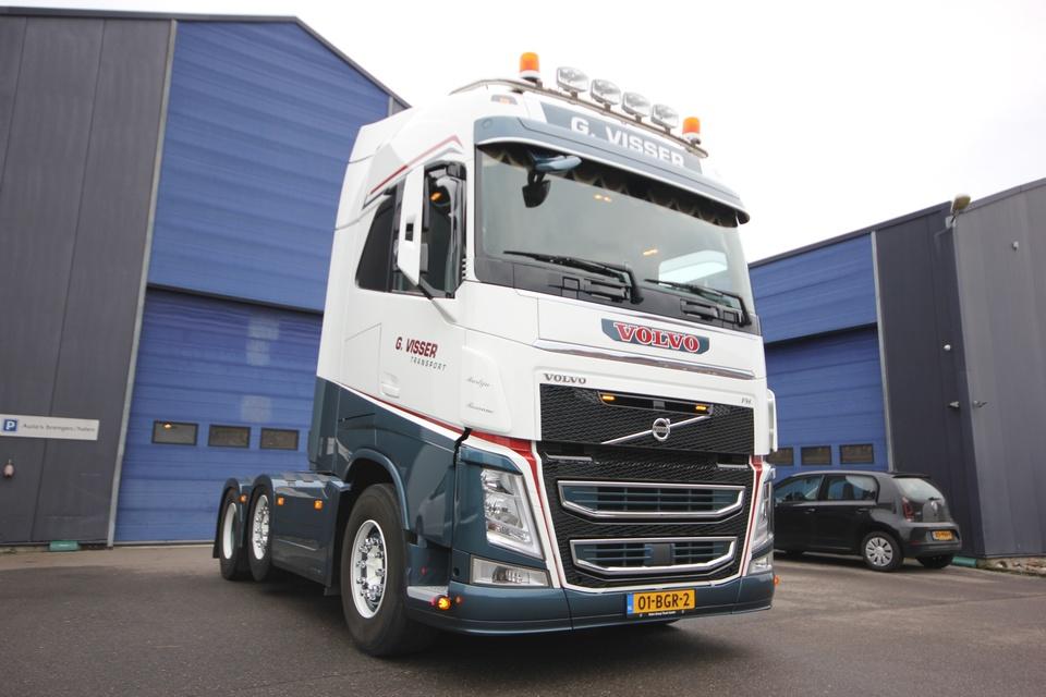 Nieuw Truck interieur voor G. Visser Transport JD-27