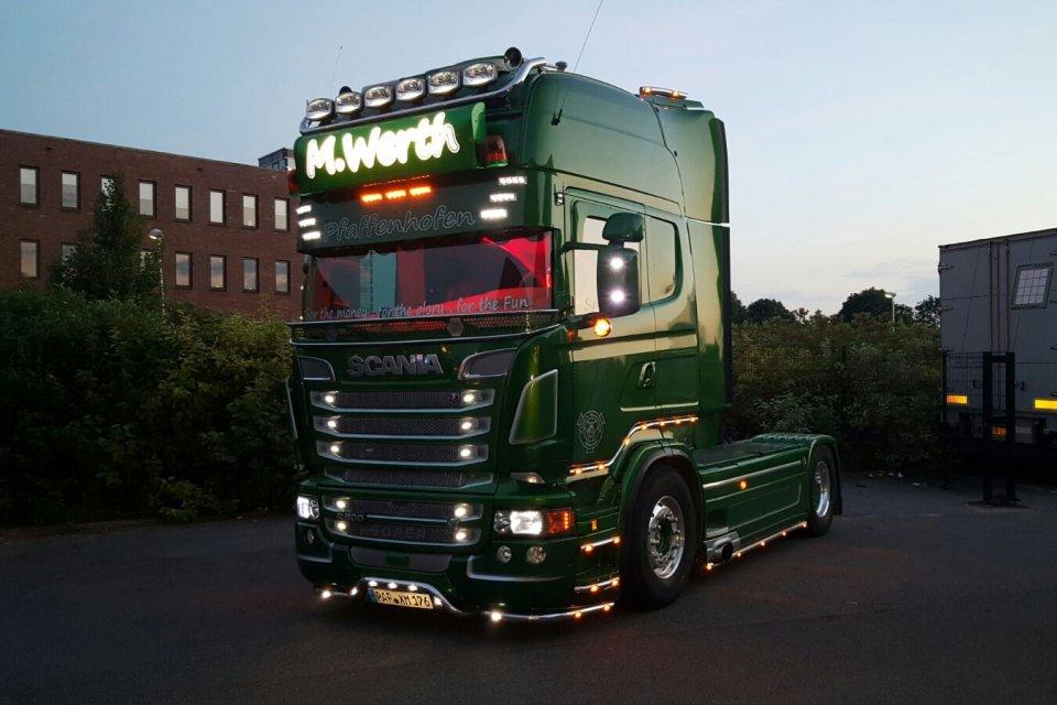 Truck interieur voor Micha Wert Transport