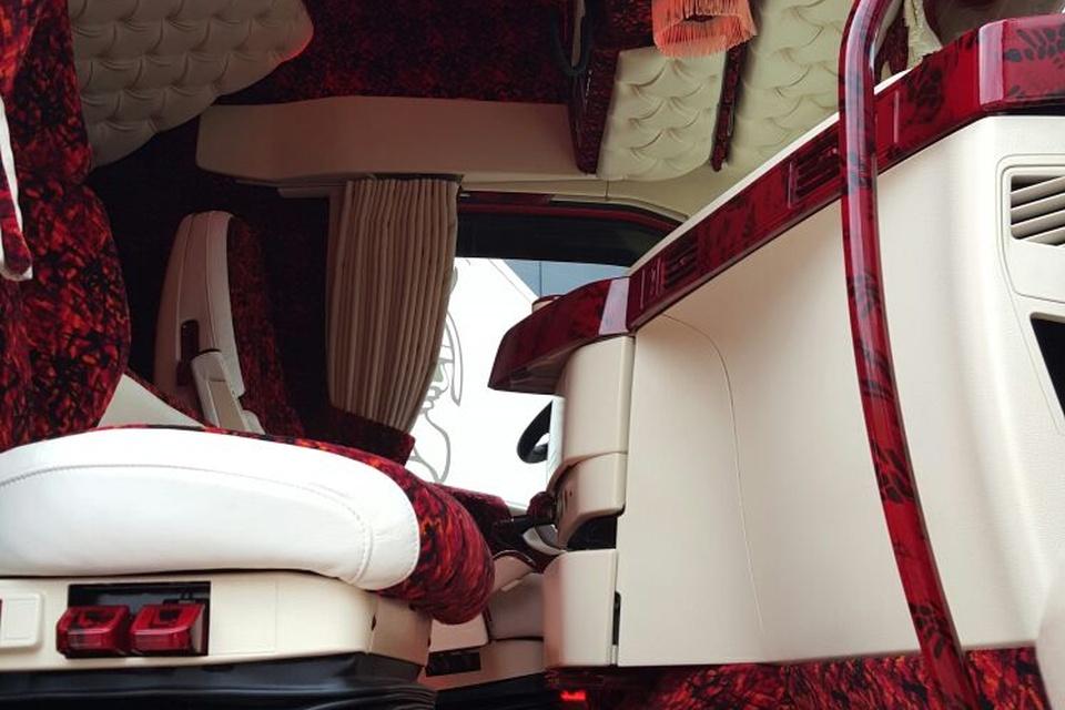 Volvo fh4 interieur