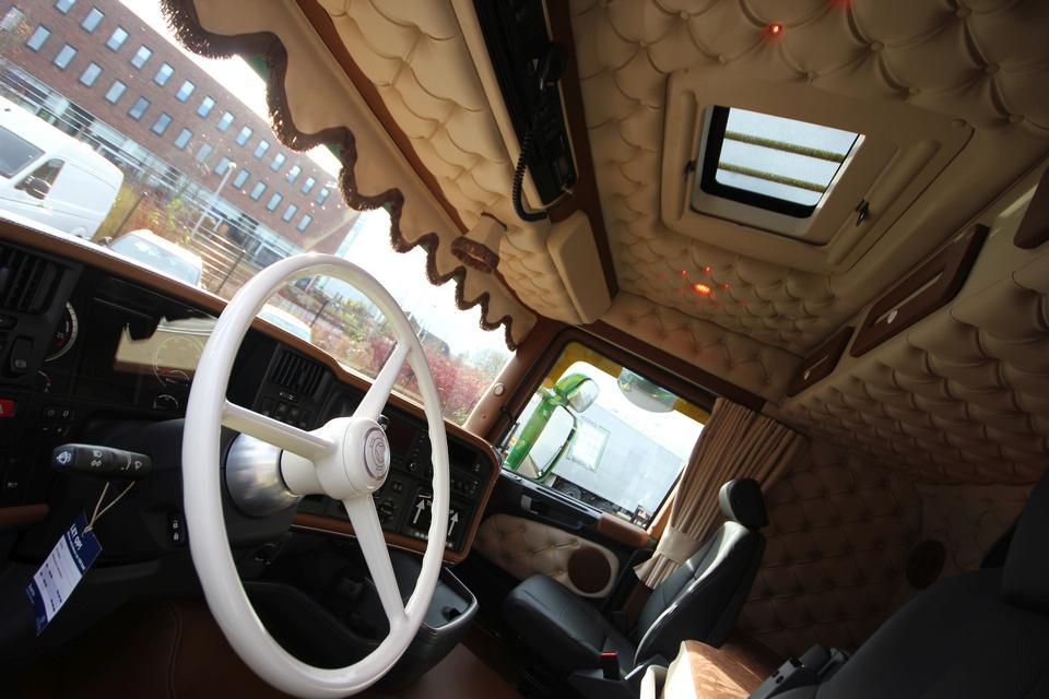 truck interieur voor stef janssen